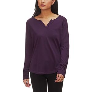 Mountain Hardwear Daisy Chain Split-Neck Long-Sleeve Top - Women's