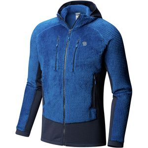Monkey Man Grid II Hooded Fleece Jacket - Men's