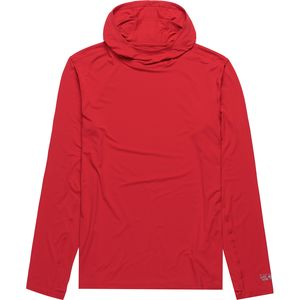 Mountain Hardwear Crater Lake Long-Sleeve Hooded Shirt - Men's