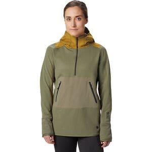 Mountain Hardwear Frostzone Hybrid 1/2-Zip Hoodie - Women's thumbnail