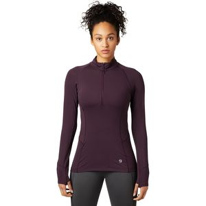 Mountain Hardwear Ghee Long-Sleeve 1/4-Zip Top - Women's