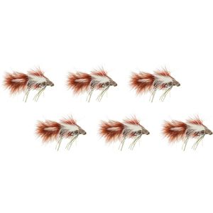 Montana Fly Company Galloup's Menage A Dungeon - 6 Pack