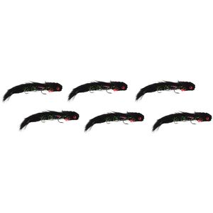 Montana Fly Company Galloup's Articulated Butt Monkey -6 Pack