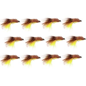 Montana Fly Company Coffey's Ch Sparkle Minnow - 6 Pack