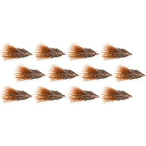 Montana Fly Company Coffee's Sparkle Minnow - 12 Pack