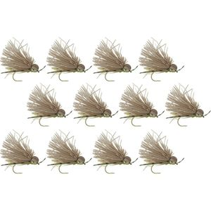 Montana Fly Company Galloup's Butch Caddis - 12 Pack