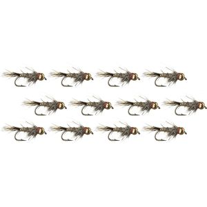 Montana Fly Company BH Hares Ear Flashback - 12-Pack