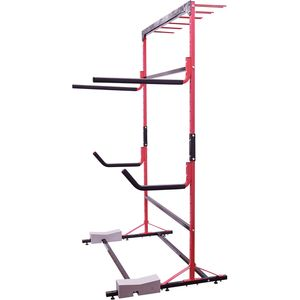 Malone Auto Racks FS Rack 2 Kayak, 2 SUP, 6 Ski Storage Rack