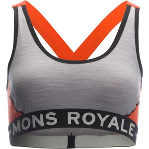 Mons Royale Stella X-Back Sports Bra - Women's