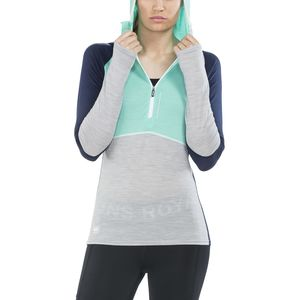 Mons Royale Checklist Long-Sleeve Hoodie - Women's