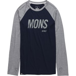 Mons Royale Coreshot Long-Sleeve Raglan - Men's