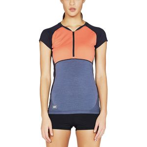 Mons Royale Bella Zip Tech Tee-Shirt - Women's