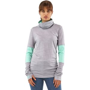 Mons Royale Cornice Rollover Long-Sleeve Top - Women's