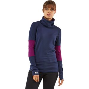 Mons Royale Cornice Rollover Top - Women's