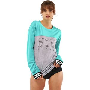 Mons Royale Yotei Boyfriend Tech Long-Sleeve Top - Women's
