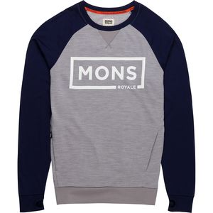 Mons Royale Tech Sweat Border Shirt - Men's