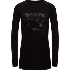 Mons Royale Boyfriend Long-Sleeve Shirt - Women's