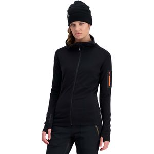 Mons Royale Ascend Midi Full-Zip Hooded Top - Women's