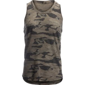 Monrow Baseball Camo Tank Top - Women's
