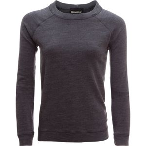 Monrow Burn Out Vintage Raglan Sweatshirt - Women's
