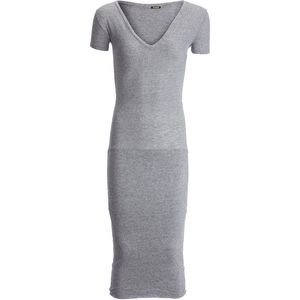 Monrow Granite V-Neck Dress - Women's