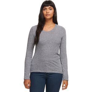 Monrow Granite Long-Sleeve Crew - Women's