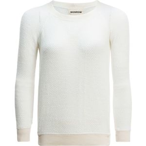 Monrow Open Knit Raglan Sweater - Women's