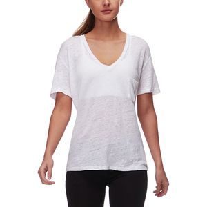 Monrow V-Neck Pocket T-Shirt - Women's