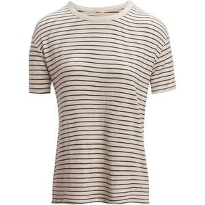 Monrow Superstripe Pinestripe Vintage T-Shirt - Women's