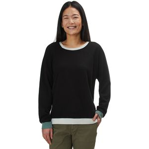 Monrow Color Block Oversized Raglan - Women's