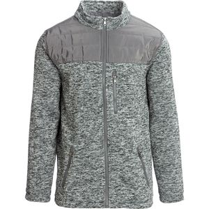Marqt Outdoor Quilted Yoke Sweater Jacket - Men's