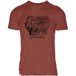 Meridian Line Yellowstone Grizzly T-Shirt - Men's