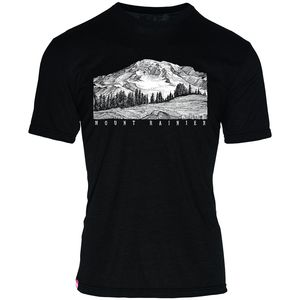 Meridian Line Mount Rainier T-Shirt - Men's