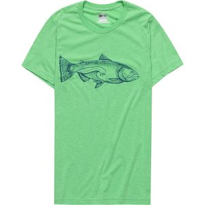 Meridian Line Salmon Wave T-Shirt - Men's
