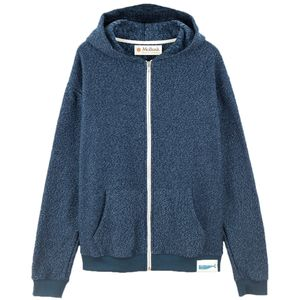 Mollusk Whale Patch Zip Up Hoodie - Men's