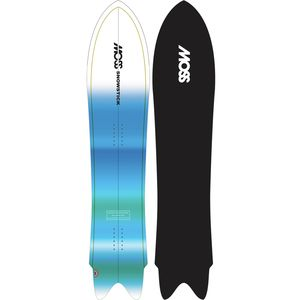 Moss Snowstick Wing Swallow Snowboard - Men's