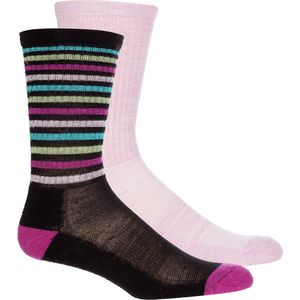 Mountian Lodge Sport Merino Socks - Women's - 2 Packs