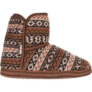 Muk-Luks Short Knit Pattern Bootie - Women's
