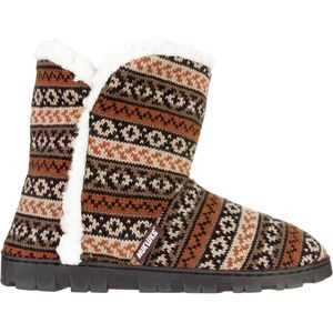 Muk-Luks Faux Fur Trimmed Lug Boot - Women's