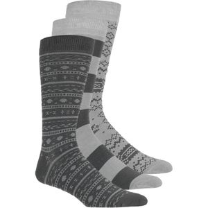 Muk-Luks Multi Pattern Socks - 9-Pack - Men's