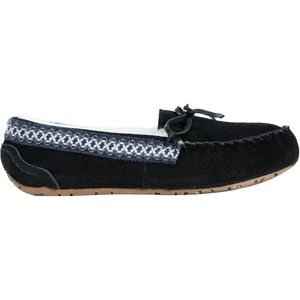 Muk-Luks Jane Suede Moccasin Slipper - Women's