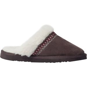 Muk-Luks Dawn Suede Scuff Slipper - Women's