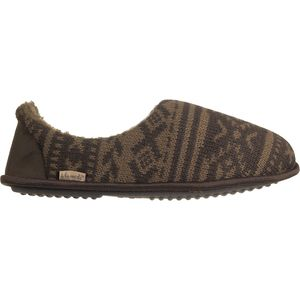 Muk-Luks Aztec 2-Color Fairisle Slipper - Men's