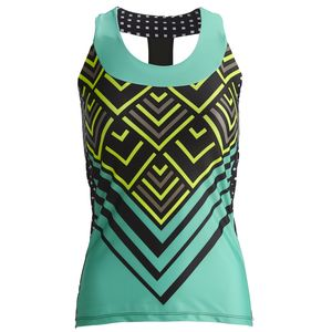 Moxie Cycling High Vis Lumenex T-Back Jersey - Sleeveless - Women's