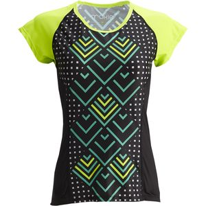Moxie Cycling Lumenex Colorblock Tee Jersey - Short-Sleeve - Women's