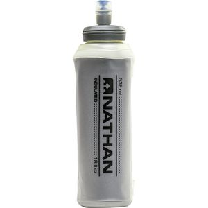 Nathan Insulated Soft Flask with Bite Top - 18oz
