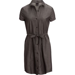 NAU Twisted Short-Sleeve Shirt Dress - Women's
