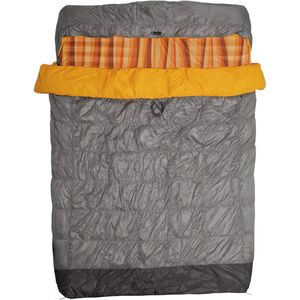 NEMO Equipment Inc. Tango Duo Slim Sleeping Bag: 30 Degree Down with 2-Person Slipcover