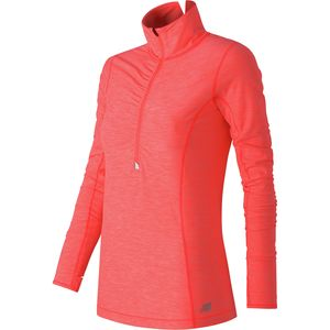 New Balance In Transit Half Zip Long Sleeve Shirt - Women's