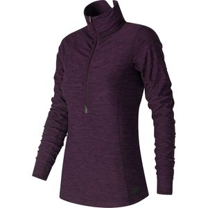New Balance In Transit 1/2-Zip Shirt - Women's